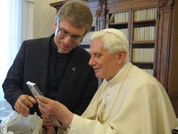 Olav Fykse Tveit, segretario del CEC incontra Benedetto XVI