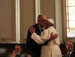 Visita di papa Francesco alle Chiese Valdesi e metodiste (foto Romeo/Riforma)